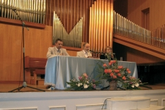 Konferenz Kischinau, Moldawien, Orgelhalle, Mai 2007
