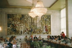 Konferenz Kishinev-Moldawien, Saal der Republik, September 2001