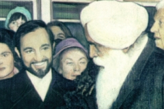 Mit Sant Kirpal Singh, Präsident der Weltgemeinschaft der Religionen