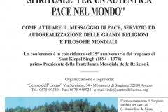 1. Weltkonferenz für den Frieden und Wohlstand der Nationen