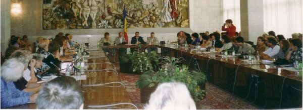 Kishinev (Moldavia), Sala della Repubblica (2001)